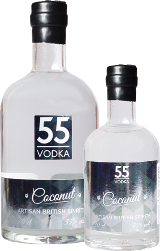 coconut flavour vodka