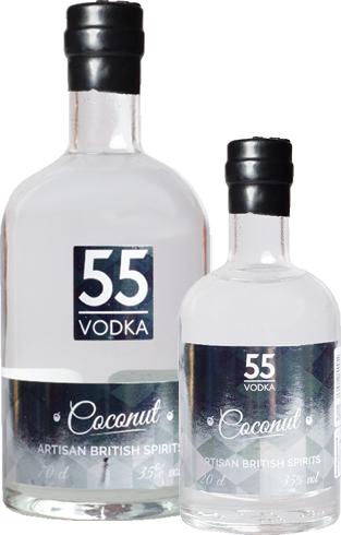 coconut flavour vodka