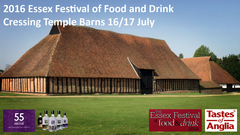 The Essex Food and Drink Festival, Cressing Temple Barns, 16th & 17th July 2016.